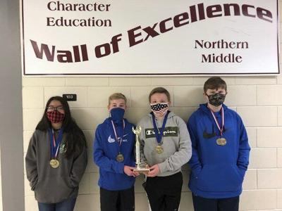 Northern Middle's FPS team takes top honors at international competition
