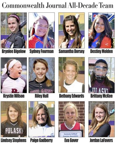 The top softball players of the decade