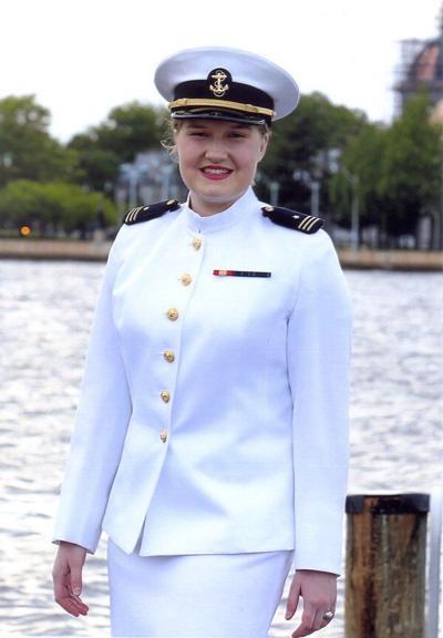 Searsgraduatesfrom the U.S. Naval Academy