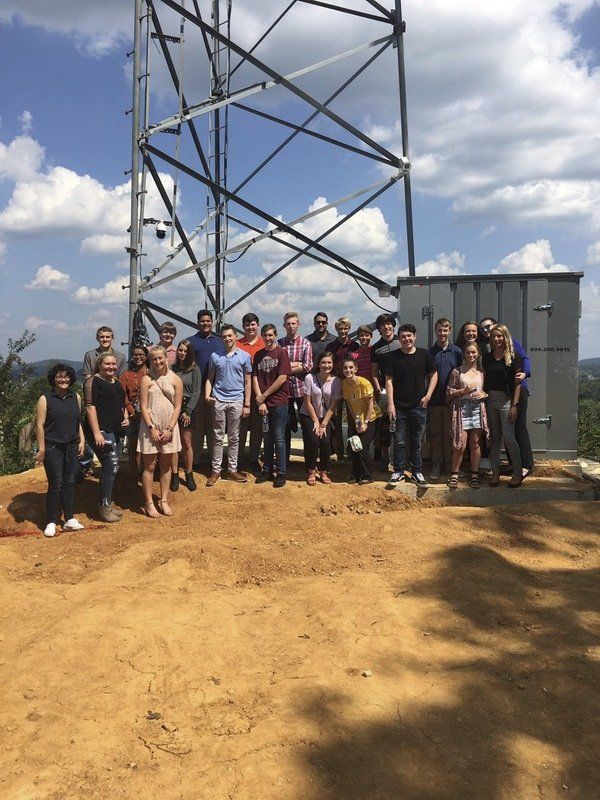 PCHS FBLA students tour local businesses