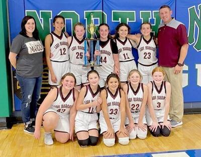 Northernsixth-grade girls basketball team winsConference Championship
