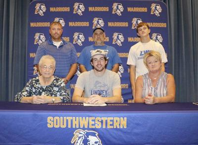 Warrior Tanner McBryde signs with Lindsey Wilson