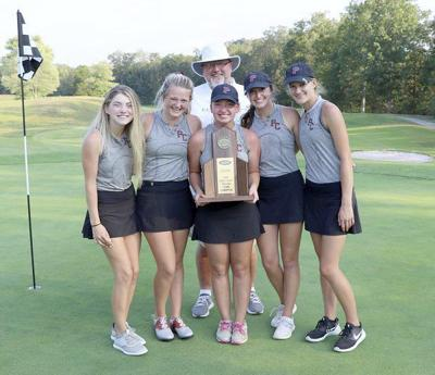 Lady Maroons golfers place fifth in state championships