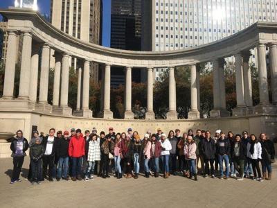 SHS DECA students visit the Windy City