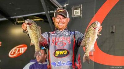 Upshaw leads at Day 2 of Costa FLW Series Championship