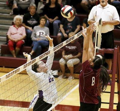 Lady Maroons use hot start for cross-town win