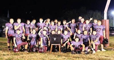 North Middle 7th-grade football team wins Region