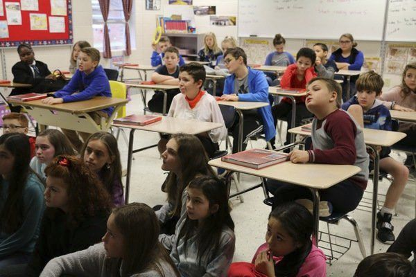 Meece Middle School Holds Career Day