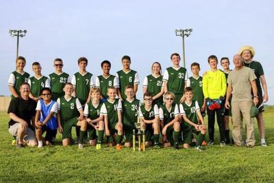 Somerset Christian wins district soccer title