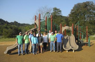 Pulaski Park playground project completed