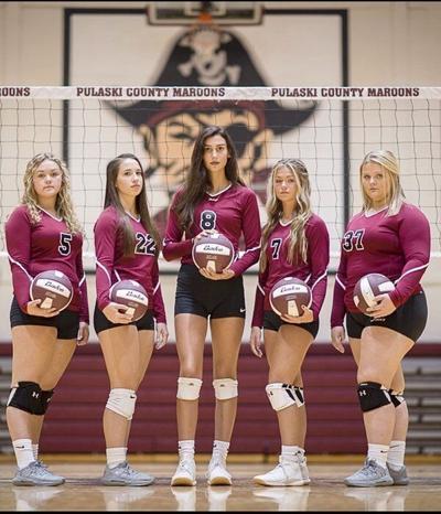 A SeasonInterrupted:The Pulaski County High School volleyball seniors were denied their final two weeks of their final prep season