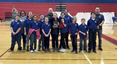 Pulaski Elementary, Northern Middle placed second in Archery Region