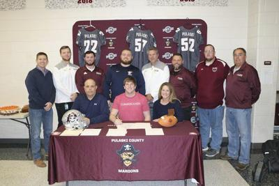 Chase Parmelee signs with University of theCumberlands