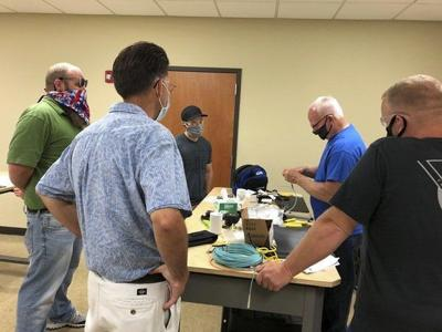 The Center educates another class of Certified Fiber Optic Technicians as COVID-19 restrictions ease