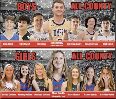 Kade Grundy, Alexa Smiddy named Players of the Year