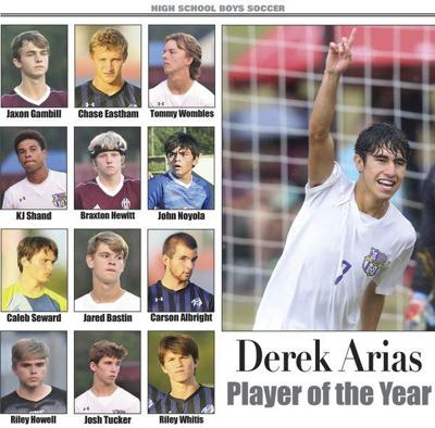 Derek Arias named Player of the Year