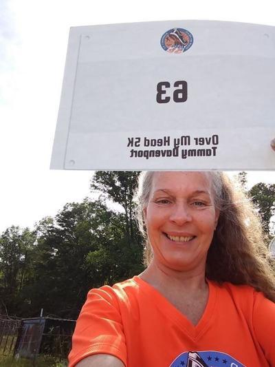 Over My Head 5K road race concludedin virtual fashion