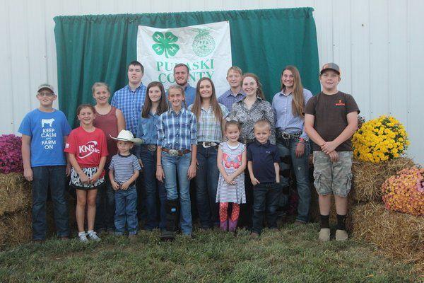 8th Annual Pulaski County 4-H/FFA Livestock Show and Sale held in Nancy
