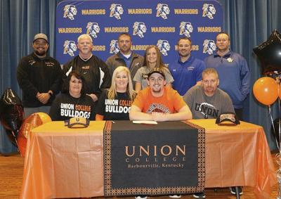 Chandler Truett signs with Union College