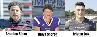 Sheron, Cox, and Sloan named to KSR All-State Football Team