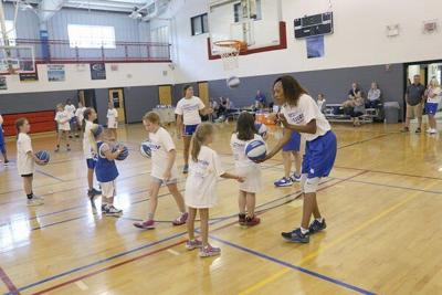 UK Women's Hoops Host Camp at Rocky Hollow