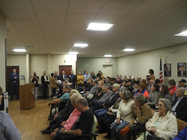 Standing room only at Somerset VA Clinic's open house