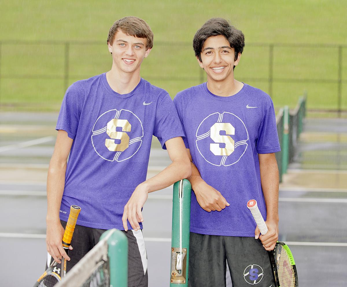 Somerset High School sophomore tennis players Jonathan Nickell (left) and  Amin Katanbaf reached the 12th Region Tournament Finals to finish region ...
