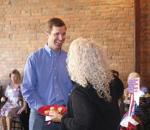 Beshear campaigns in Pulaski County