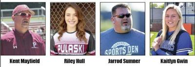 Hull, Gwin, Sumner and Mayfield earn spring sports post-season honors