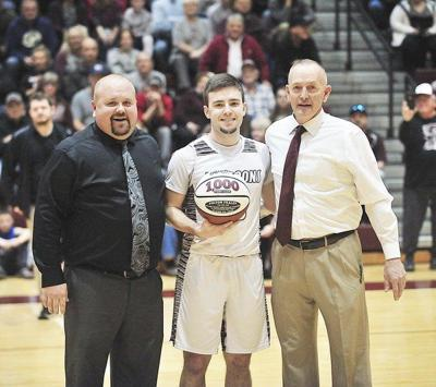 Fraley awarded 1,000-point basketball