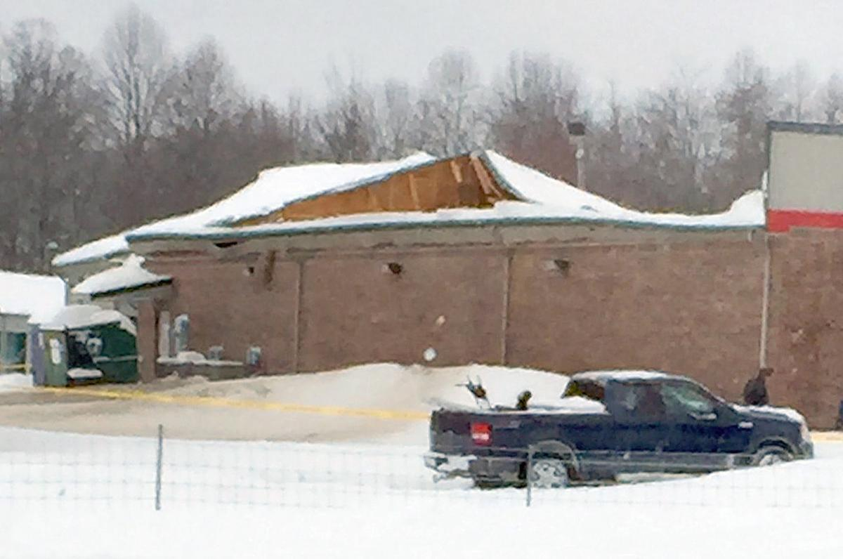 Roof Collapses From Snow Load Damage Marinas Eubank