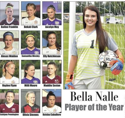 Bella Nalle named Player of the Year