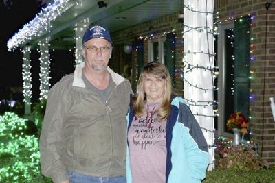 Bronston's Lighted Winter Wonderland: Keith and Terry Frank spread Christmas Joy with their own 'Virtual Light Show'