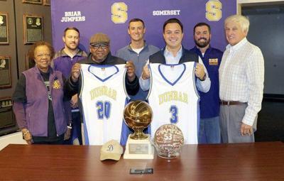 Somerset High School basketball honors Dunbar