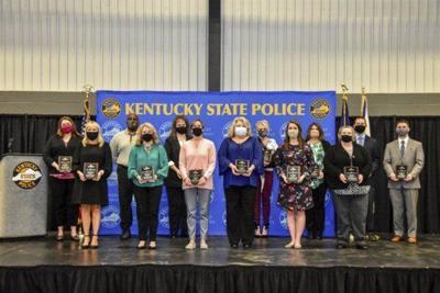 Kentucky State Police recognizes fourteen civilian employees