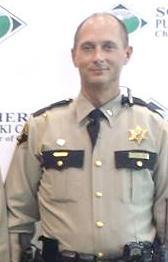 Pulaski County Sheriff's captain has ear bitten badly in