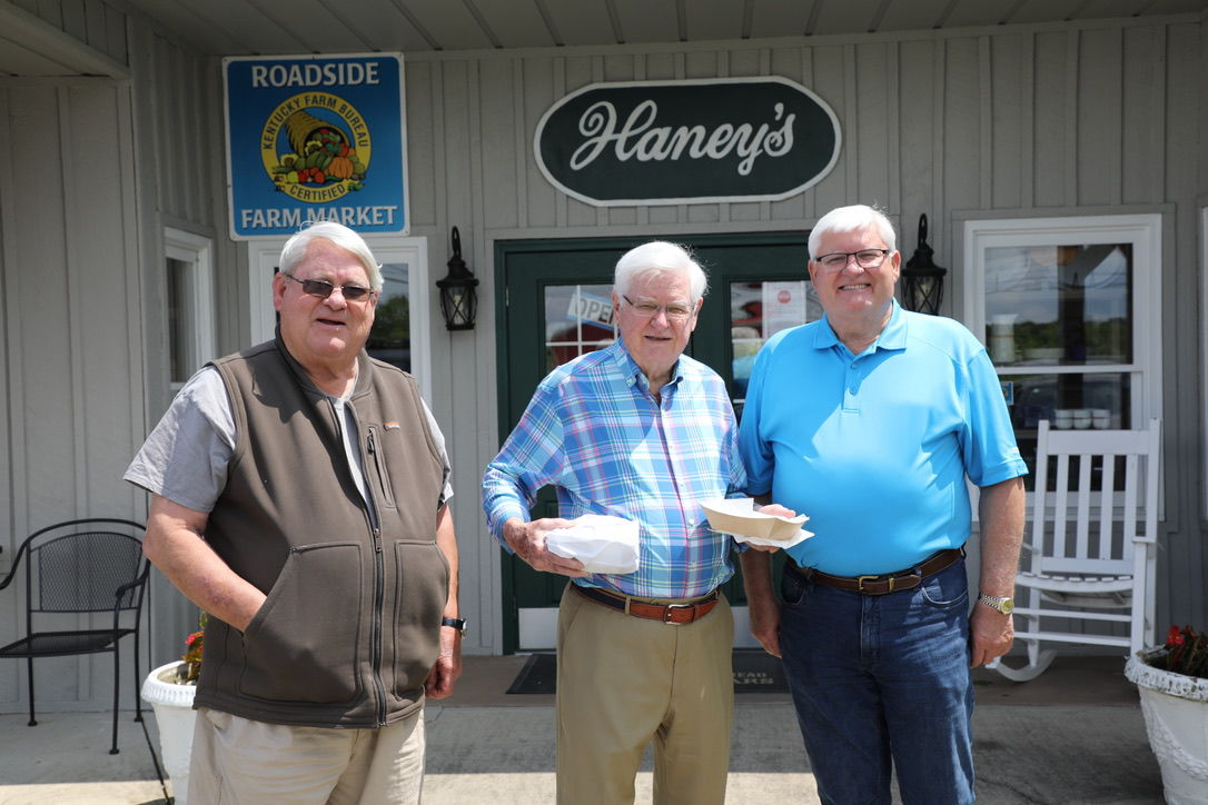 Congressman Hal Rogers with Haney Brothers