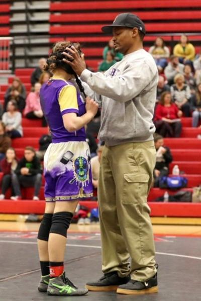 Somerset High School varsity wrestlers compete in first Dual