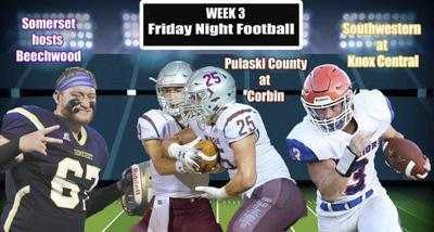 Gridiron action heating up in Week 3