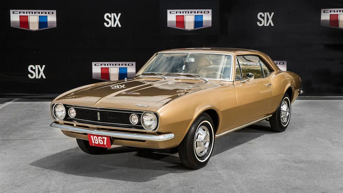 First Camaro ever made coming to Somernites this weekend | News ...