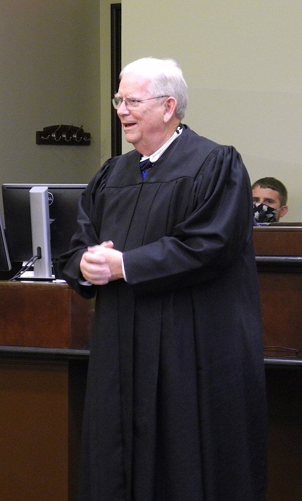 Prather sworn in as Circuit Judge