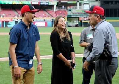 Hull awarded at Cincinnati's Great American Ballpark