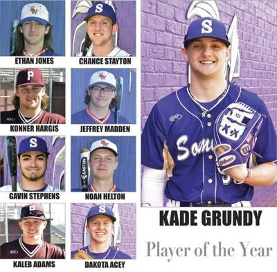 Kade Grundy named Player of the Year