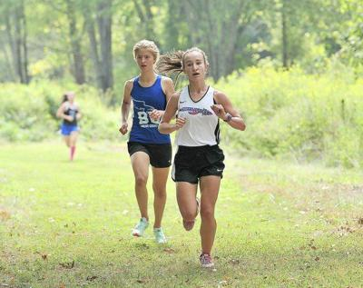 Kate Golden wins at Southern Harrier
