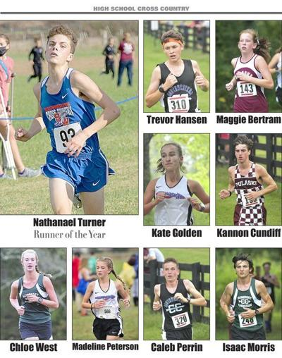 Nathanael Turner named Cross Country Runner of the Year