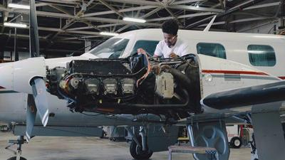 Program Helps Veterans Transition to Aviation Careers at Somerset Community College