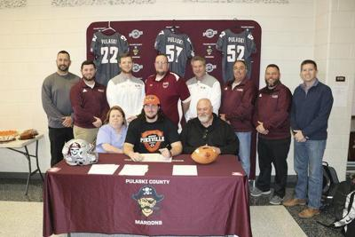 Paul Judd signs with University of Pikeville