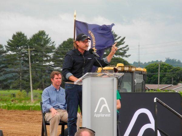 Officials break ground on local AppHarvest farm