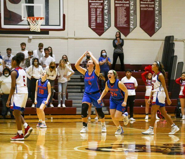 Just as Sweet: Lady Warriors win second region title in three years
