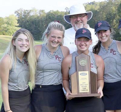 Lady Maroons golfers win Region 10 awards